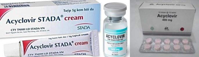 - Acyclovir